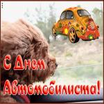 Картинка милая открытка день автомобилиста