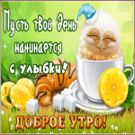 Картинка позитивная картинка доброе утро