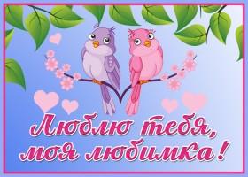 Картинка романтическая открытка любимой